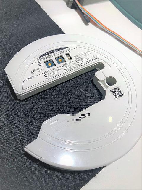 ビーコンの機器本体は感知器と同時に点検