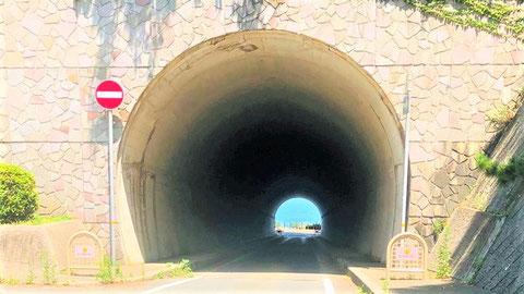 トンネル内にある非常用施設