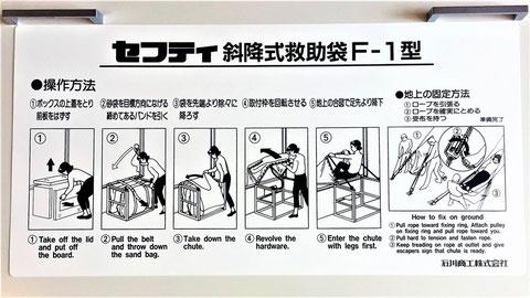 Evacuation equipment