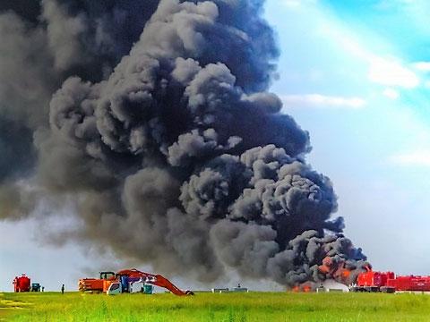 危険物施設の火災は大事故