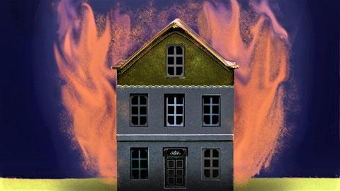 持ち家が火災で全焼 保険