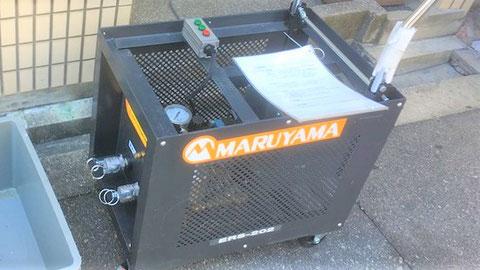 連結送水管耐圧試験専用の機器