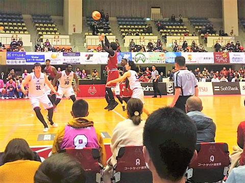 バンビシャス奈良#23横江選手のシュート
