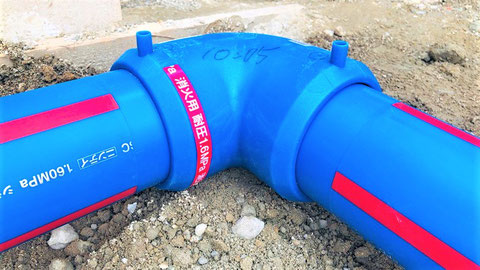 消火設備配管用高性能ポリエチレン管