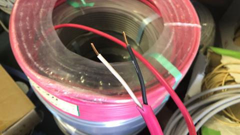 色違いのケーブルを用いれば一目瞭然 自動火災報知設備