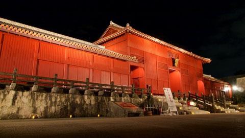 沖縄の象徴的な建物である首里城 火災