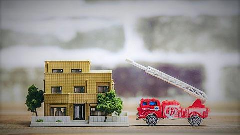 マイホームが火事 防災保険