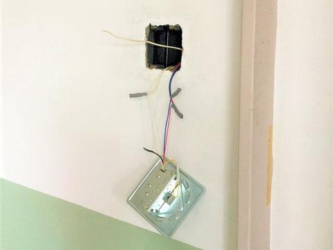既設ラッチの結線方法は必ず写真 防火設備