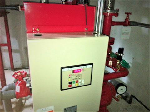 泡消火ポンプ制御盤