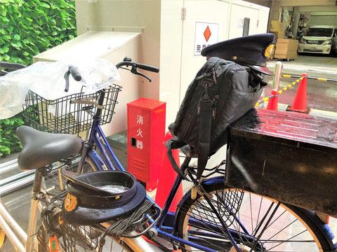 予防課の方も消防検査の際には自転車