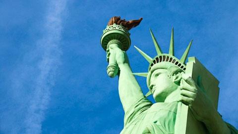 人類が皆自由で平等であるという信念 自由の女神