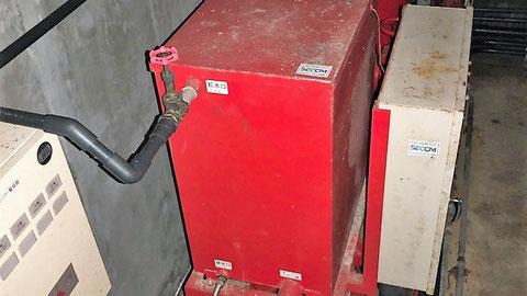 呼水槽用仕切弁