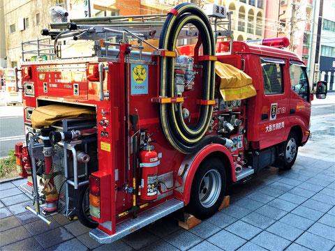 消防ポンプ車(いわゆる消防車)