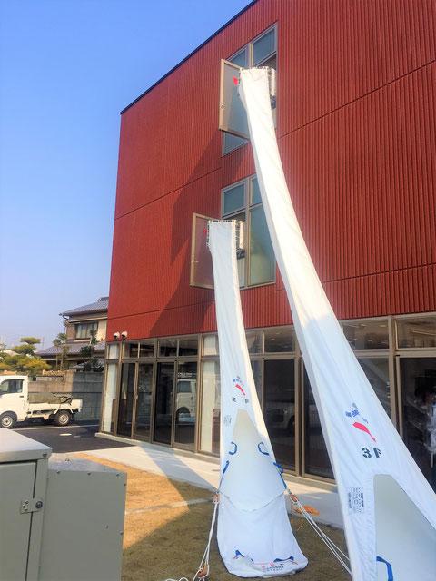 斜行式救助袋|避難器具|大阪市...