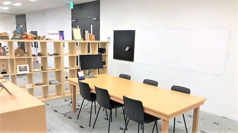 フラーさんオフィス会議スペース