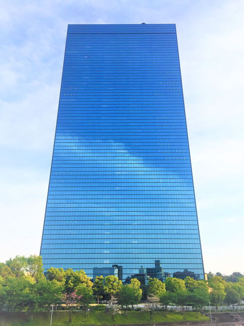 大阪ビジネスパークの高層建築物