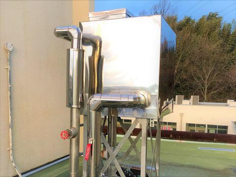 補給水槽のラッキング