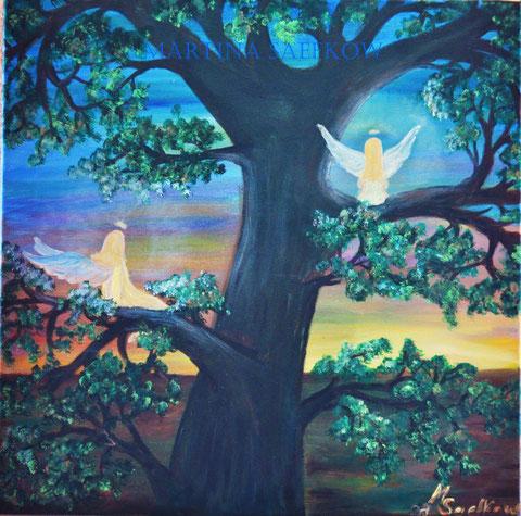 Engelchen im Baum
