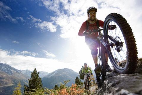 Radfahren im Ötztal
