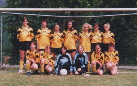 Mannschaft Juli 2000