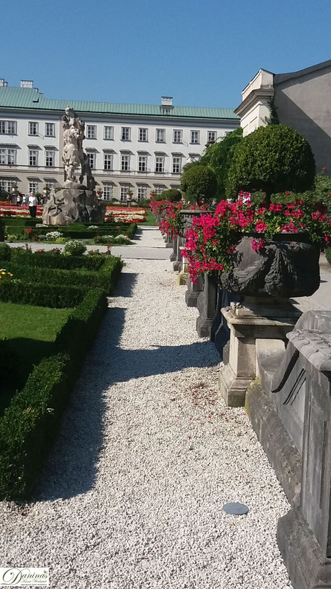 Salzburg, prachtvoller Mirabellgarten