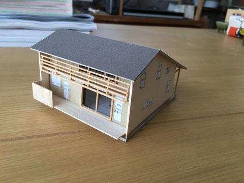 プランニングの際に使う住宅模型図