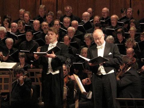 Foto Hermann Glandorf; Wolfram Wittekind; Herforder Münsterchor; Kantorei Bad Kissingen; Thüringen Philharmonie Gotha