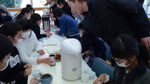美味しいお茶の入れ方教室