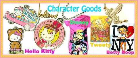 キャラクター Hello Kitty・Disney 他