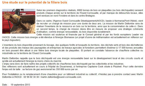 Bigouden TV - 19 Septembre 2013