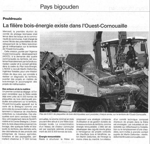 Ouest France - 21 Septembre 2013