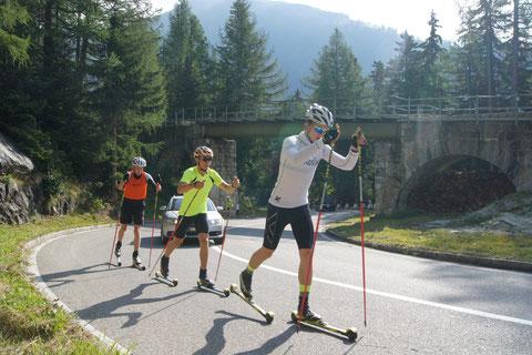 Skiroller / Rollski Klassik Kurs