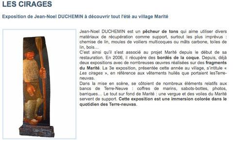 Article du site officiel du Marité