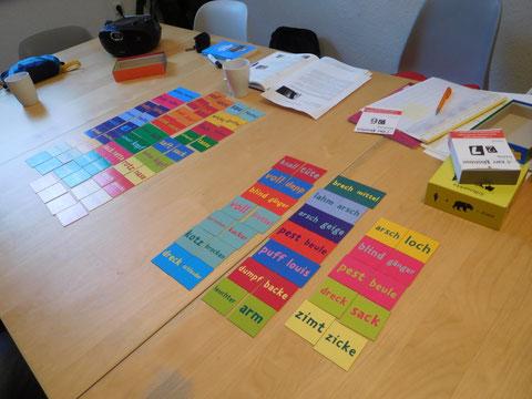 """Memory """"Schweinebacke"""" beim Einsatz im DaF-Unterricht: Ein Spiel Erweiterung des Wortschatzes"""