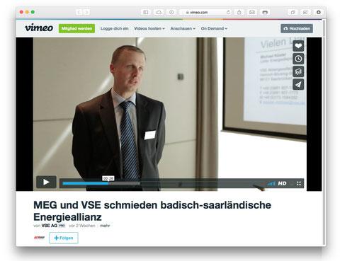vimeo – MEG und VSE schmieden badisch-saarländische Energieallianz