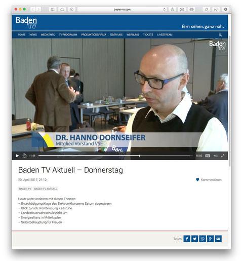"""Baden-Badener Energie-Unternehmen gelingt großer Coup - """"Badisch-saarländische Energie-Allianz"""" - MEG-Vorstand Gernsbeck: """"Roter Faden der Digitalisierung"""""""