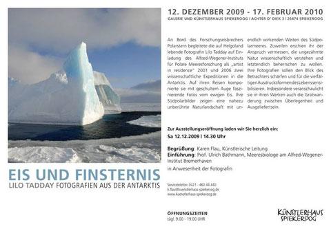 """SÜDPOLARE EISLANDSCHAFTEN Bilder einer Ausstellung  Der Wind ist noch warm, als die """"Polarstern"""" am späten Abend die Bucht am Kap der Guten Hoffnung verlässt. An den langen Schwell der Dünung und das"""