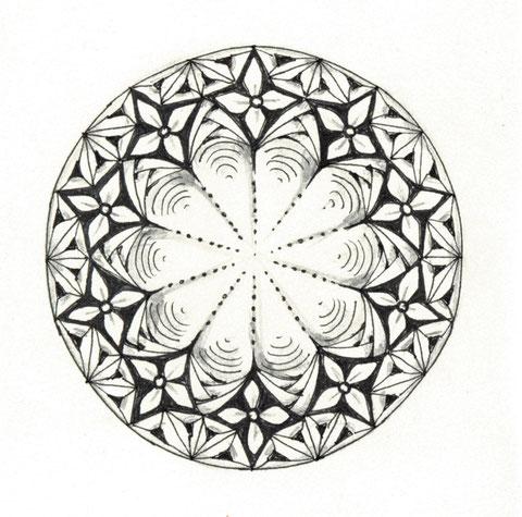 Zandala Dare #92 Durchmesser: 7,5 cm