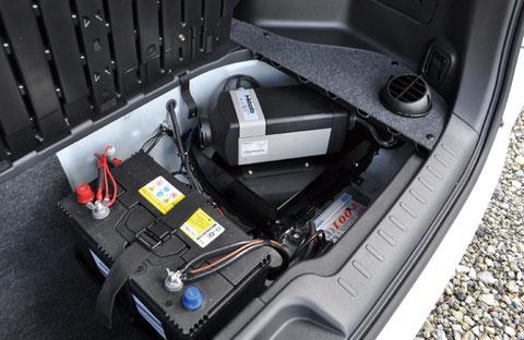 P-SV-FFヒーター + サブバッテリー