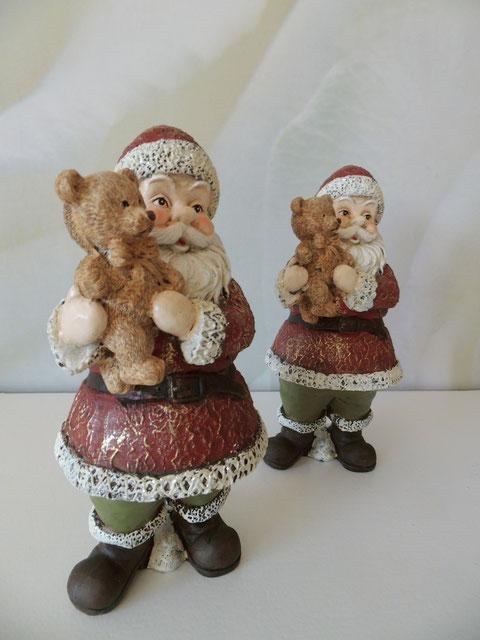 Nikolaus mit Teddybär Weihnachten Weihnachtsmann