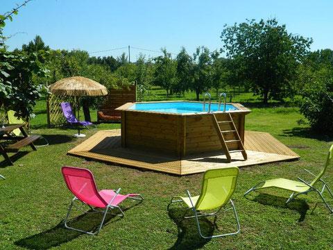 piscine hors sol.