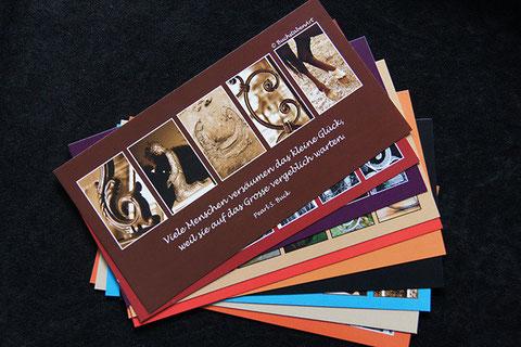 10 Postkarten sortiert