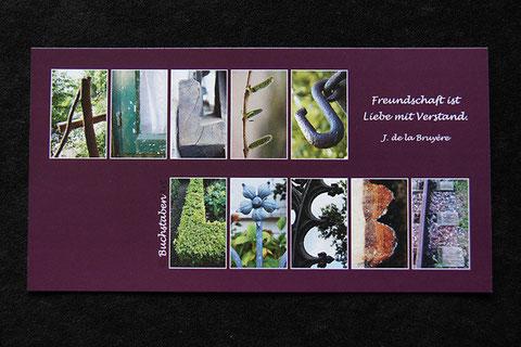 Postkarte - ALLES LIEBE
