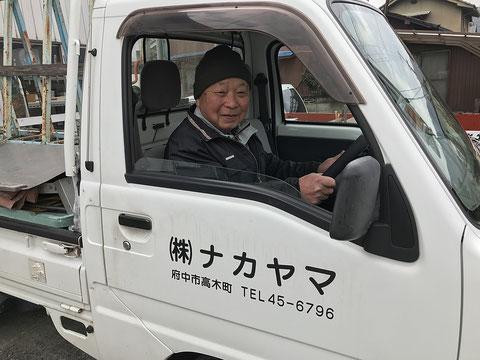 ナカヤマのベテラン職人です。