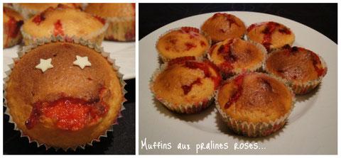 Une touche lyonnaise dans ces muffins !