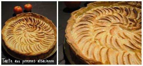 Une variante gourmande de la tarte aux pommes