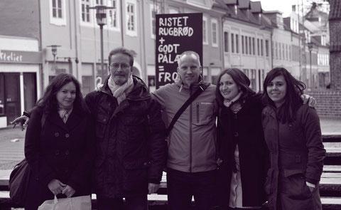 Petite virée à Køge avec Dennis, Dora, Christa et Ole
