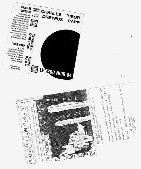couvertures des cassettes