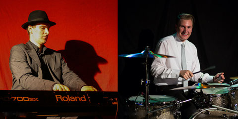Gregor Kilian (Klavier) und Nils Conrad (Schlagzeug). Foto: KPW