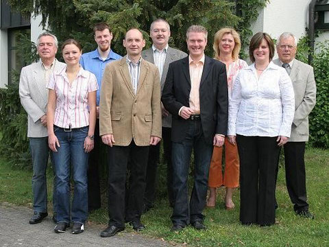 Die Vorstandschaft im Jahr 2009